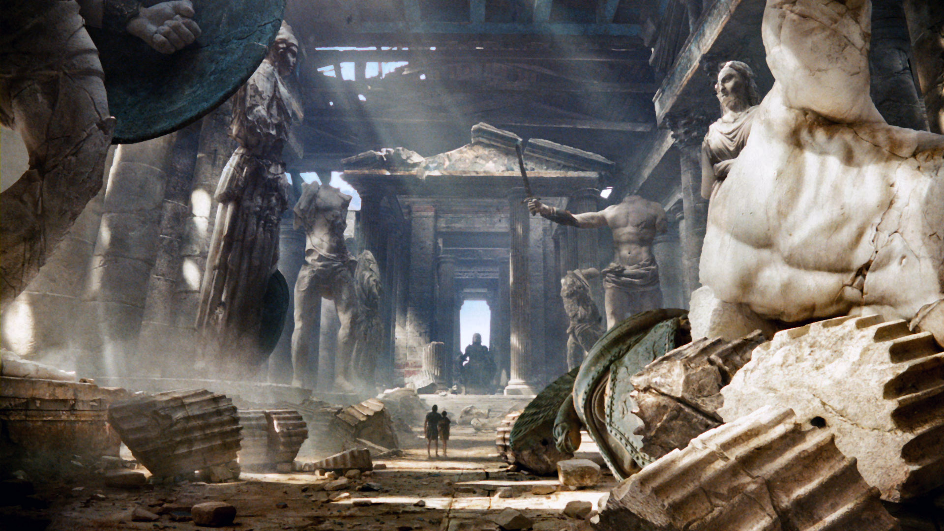 Download Wrath of the Titans Hollywood blu-ray movie 2012