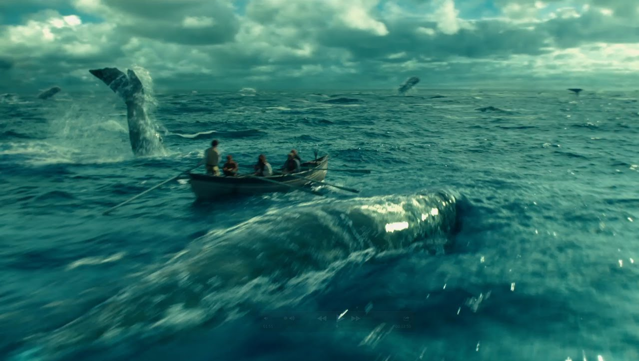 Download In the Heart of the Sea Hollywood blu-ray movie 2015
