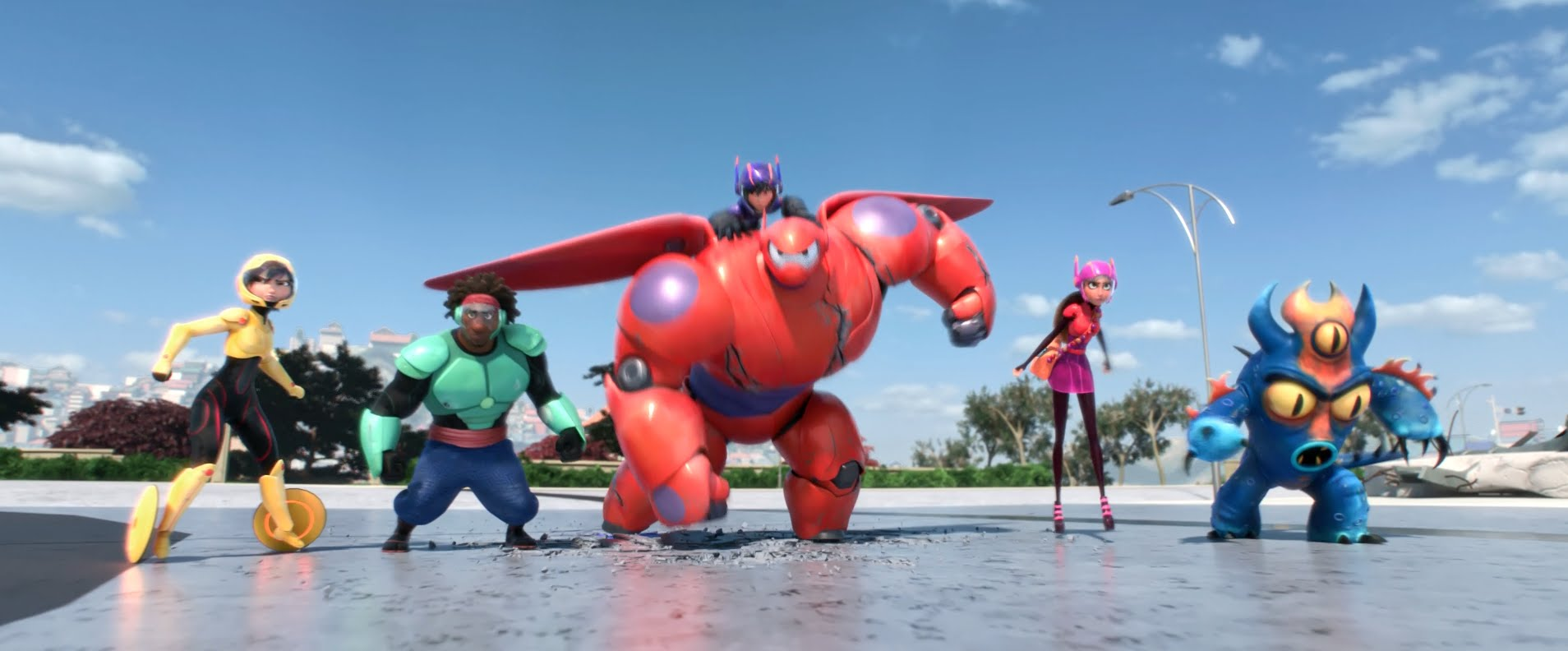 Download Big Hero 6 Hollywood bluray movie 2014