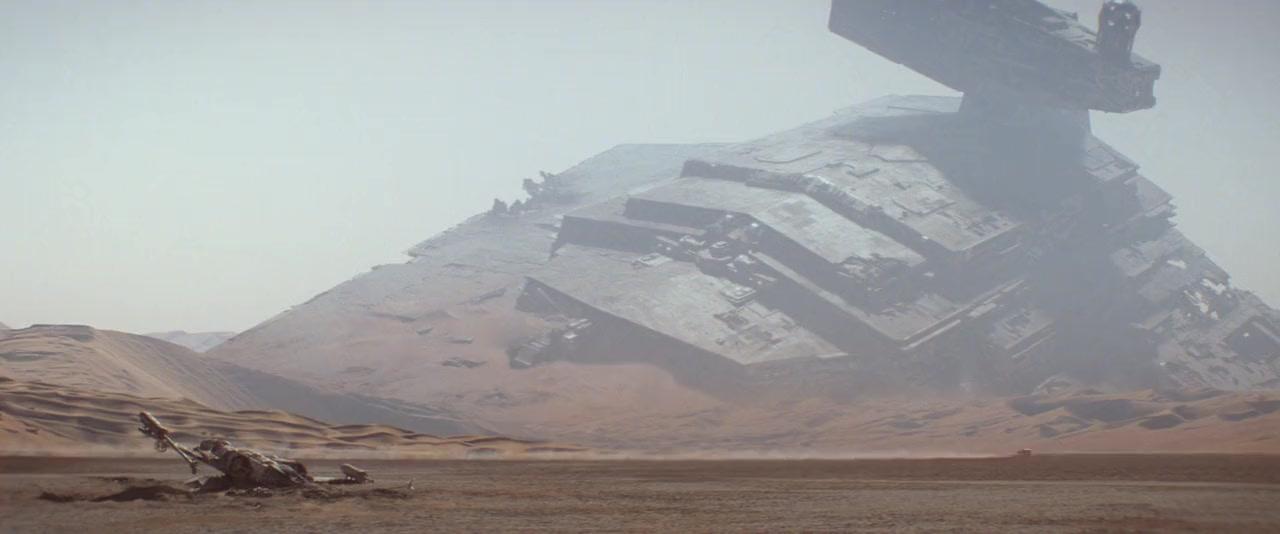 Star Wars the force awakens screenshot